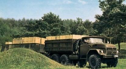 ZIL-131。 リカチョフにちなんで名付けられた植物の最後のヒーロー