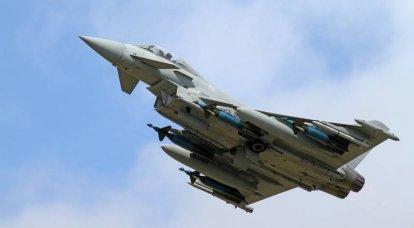 ब्रिटिश वायु सेना अब यूरोफाइटर टाइफून लड़ाकू विमानों की खरीद नहीं करेगी