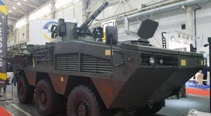 """BTR """"Otaman 6x6"""" è in fase di test"""