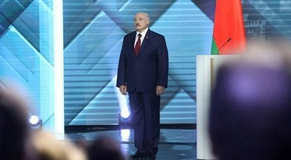 """From an interview with Lukashenka: """"I can be shot, but I will not run anywhere"""""""