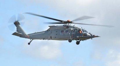 Cerca e salva l'elicottero Sikorsky HH-60W Jolly Green II: tra prove e serie