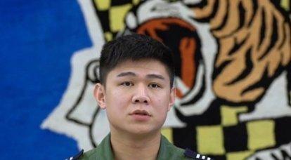 Un caza de la Fuerza Aérea de Taiwán se estrelló en el mar al este de la isla, revelando información sobre el destino del piloto.