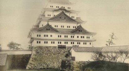 帝国主義時代の朝日の城