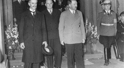 """Aniversário do Acordo de Munique. Uma página vergonhosa na história da Europa """"democrática"""""""