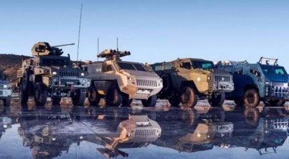 派拉蒙集团公司的装甲车