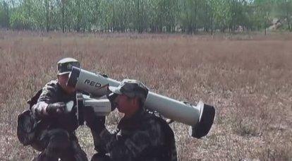 """""""Javelin"""" in Çin analogu: PLA ilk olarak HJ-12 tanksavar sistemlerini tatbikatlarda kullandı"""