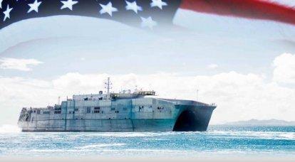 고속 원정 수송선 EPF (미국) 건설