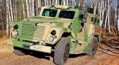 """Gelişmiş mayın koruması olan zırhlı araç MIC-3924 """"Bear"""". İnfografikler"""