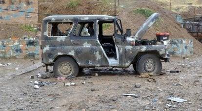 在谢尔盖·绍伊古(Sergei Shoigu)的调解下,阿塞拜疆将死去的士兵遗体移交给亚美尼亚
