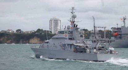 न्यूजीलैंड के आईपीवी जहाज पुकाकी और रोटोती स्थानीय जल के लिए तैयार नहीं थे