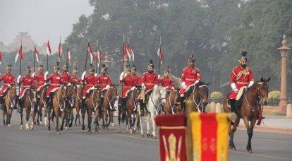 현대 인도의 군대에서 카스트. 잊어 버린 문제 또는 숨겨져 있습니까?