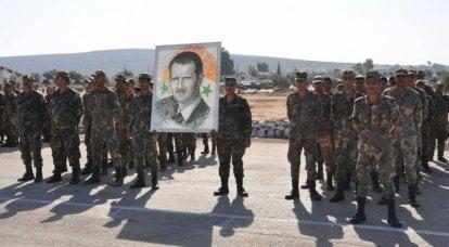 叙利亚在哈马省打击武装分子的行动以失败告终