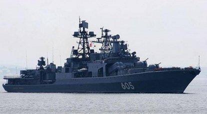 """BSB """"Admiral Levchenko"""" wird nach dem Vorbild des gleichen Typs """"Marschall Shaposhnikov"""" modernisiert."""