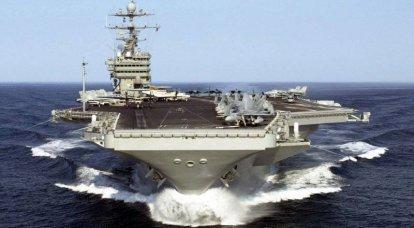アジア太平洋地域と空母の力のバランス