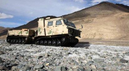 L'esercito cinese ha iniziato a ricevere nuovi veicoli fuoristrada per servire guarnigioni lontane
