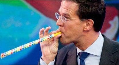 美国有一个新玩具 - 荷兰总理鲁特和他的制裁