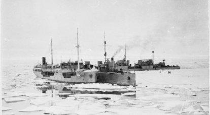 Expédition d'un but spécial. Transfert de destroyers de la Baltique à la Flotte du Pacifique