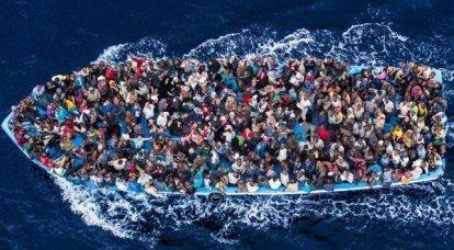 लीबिया का मार्ग। कैसे अवैध प्रवासी भूमध्य सागर को पार करते हैं
