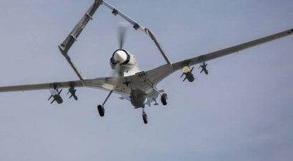 Drone de ataque turco Bayraktar TB2