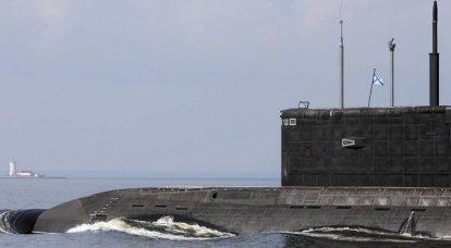 """Construido para la flota del Pacífico """"Varshavyanka"""" llegó al Canal de Suez"""