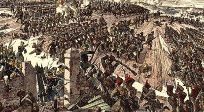 1814 번째 : 파리로가는 길에 있습니다. 나폴레옹은 다시 마샬들에게