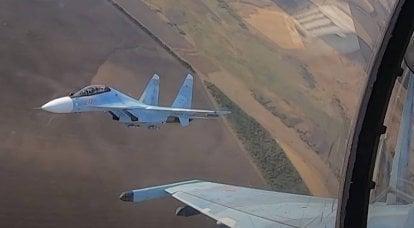 Médias: Un Su-30SM tombé la veille aurait pu être accidentellement abattu par un autre combattant