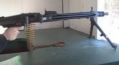 MG 42 - Mitragliatrice Wehrmacht con una velocità di fuoco fino a 1500 colpi al minuto