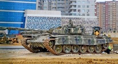 O equipamento militar capturado da Armênia será demonstrado no novo complexo do museu de Baku