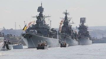 黒海艦隊の「恐怖」と数字(「ウクライナモロダ」、ウクライナ)