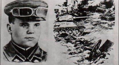 Vladimir Khazov. Héros des batailles près d'Olkhovatka