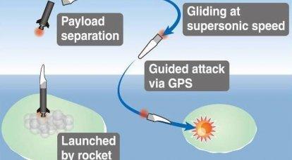 Nuova arma o il primo passo per hyperound? Project High-speed Gliding Missile (Giappone)