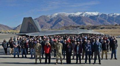 F-22 구조 수리 프로그램 : 수명 연장 및 현대화
