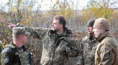 El Ministro de Defensa de Ucrania se opuso a la completa separación de fuerzas en el Donbass.