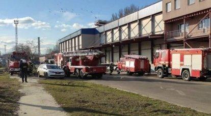 「セカンドベイルート」:SBUの警官は、ニコラエフ港の硝酸カリウム倉庫の下に「爆発物」を置く訓練を行いました。