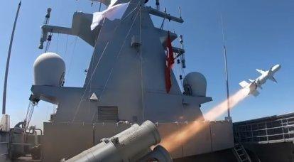 """터키는 새로운 고정밀 대함 미사일 시스템 """"Atmaka""""의 최종 테스트를 실시했습니다."""