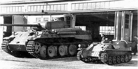 Телетанкетка Borgward-IV (Sd.Kfz.301)