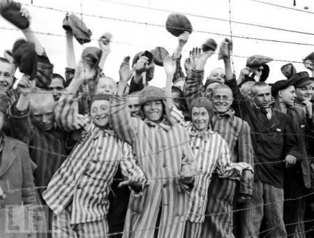 Освобождение концентрационных лагерей