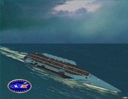 """Авианосец CVN-78 """"Джеральд Форд"""". США"""