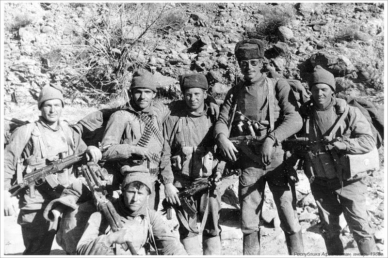 почему афганцев называли духами