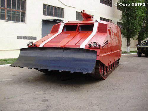 Танк-робот из Харькова – пожарная машина будущего