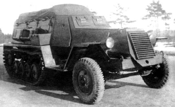 B-3 armored personnel carrier