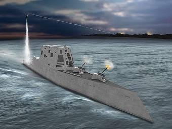 США изменили проект эсминцев будущего