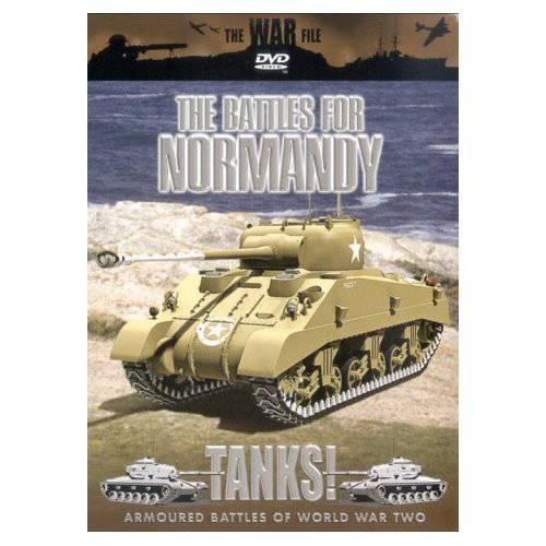 坦克。 诺曼底之战