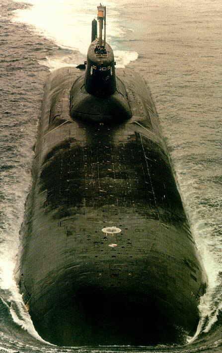 Атомная подводная лодка с