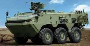 OtokarがEurosatory 6でARMA6х2010装甲車を発表