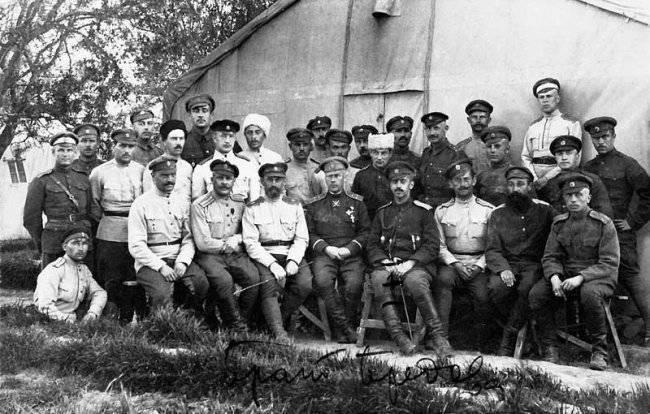 Первая мировая война и русский