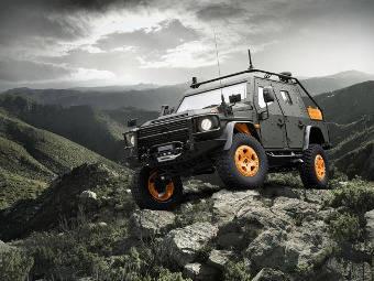 Компания Mercedes-Benz представила военный концепт-кар