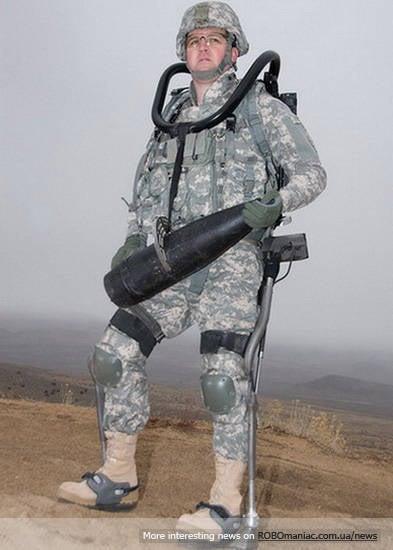 Экзоскелет HULC готов к заключительным полевым испытаниям