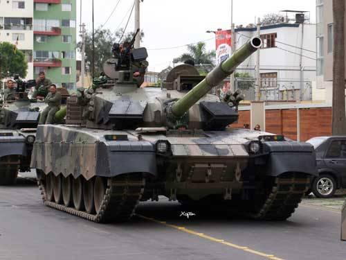 Лима вернула Пекину танки с украинскими двигателями