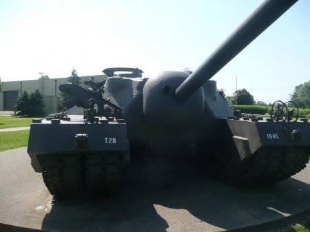 Американская ПТ-САУ Т-28 (Т-95) или просто